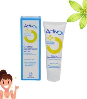 crema viso azione urto acne