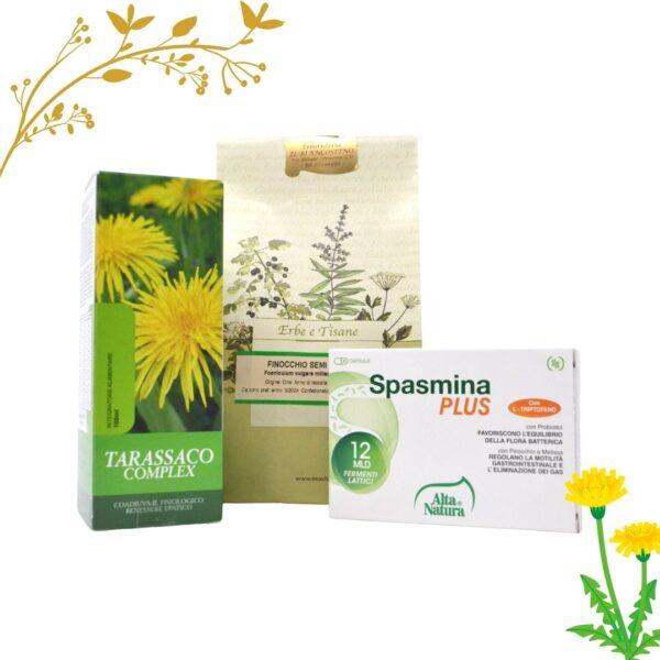 Tarassaco Complex + Spasmina Plus